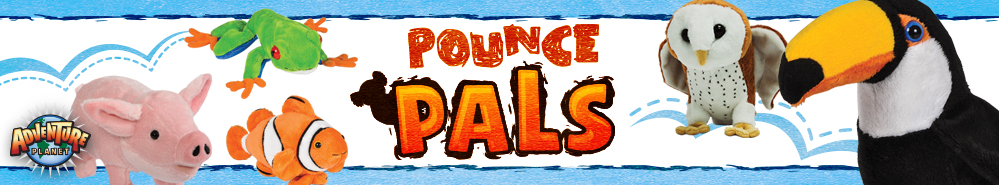 Pounce Pals plush exclusively from RI Novelty