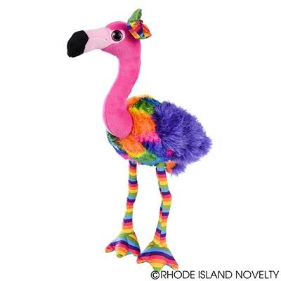 "11"" RAINBOW FLAMINGO"