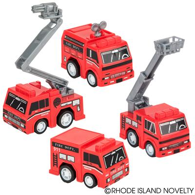 "2"" PULL BACK FIRE TRUCK (2DZ/UNIT)"